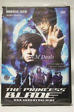 the princess blade donnie yen ntsc import dvd English subtitle