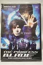 the princess blade donnie yen ntsc import dvd English subtitle