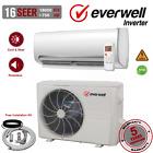 18000 BTU Air Conditioner Mini Split 16 SEER INVERTER AC Ductless Heat Pump 220V photo
