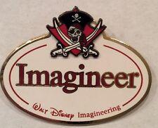 Disney Imagineering WDI Name Tag~Pirates Of the Caribbean~LE HTF Pin