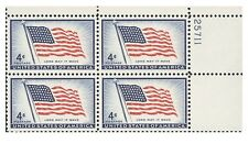 USA1094_PLB US flag with quartet with number.