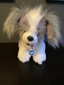 Build a Bear Promise Pet White Grey Shih Tzu DOG Rare Collectors Animal