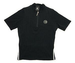 Cannondale Black Short Sleeve 1/4 Zip Cycling Jersey Womens Size Medium