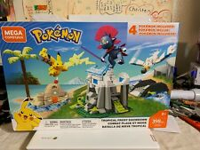 MEGA CONSTRUX POKEMON TROPICAL FROST SHOWDOWN FVK80 PIKACHU WEAVILE WINGULL NEW