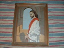 Christ At The Temple Craft Master Paint By Number 40HHH 12x16 Framed