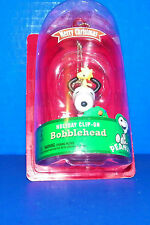 Christmas Ornament 2013 Peanuts Snoopy Holiday Clip-On Bobblehead New In Package