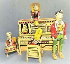 Li'l Abner and His Dogpatch Band 1945 U.S.A. by Unique Art Mfg. Co. EX / WORKING