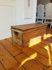 Lovely old wooden chest/trunk