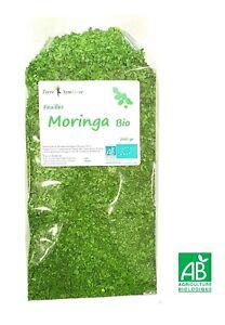 Feuille de Moringa BIO - 200 gr - Tisane - thé - Vitamine - Fer - Calcium