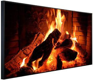 Ecowelle 350 - 1200 Watt Infrarotheizung Bildheizung - mit Thermostat - Bild 04