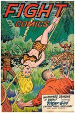 Fight Comics #52 Golden Age Fiction House 4.0