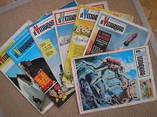 IL VITTORIOSO lotto 6 ALBI ANNATA 1960 trulli sci + omaggio