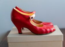 Vivienne Westwood Red Animal Toe Mary Janes Size 38