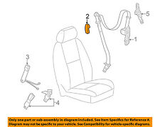 "GM OEM Front Seat Belt-Belt & Retractor Cover 15257726 ""CASHMERE"""