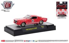 M115 52500 RC01 HOBBY M2 MACHINE 1965 SHELBY GT 350R FORD MUSTANG COCA COLA 1:64