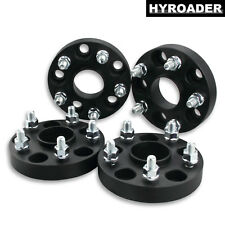 """4pc 5x4.5 Hubcentric Wheel Spacers 1"""" 12x1.25 Studs for 2007-2017 Nissan Altima"""
