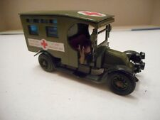 Matchbox Models of Yesteryear Y-25 1910 Renault Ambulance British Red Cross/St J