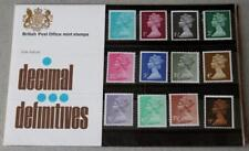 GB 1971 DEFINITIVE MACHIN PRESENTATION PACK No.26 1/2p to 9p  MINT STAMP SET #26