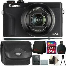 Canon PowerShot G7 X Mark Iii Digital Camera Black Ultimate Accessory Bundle