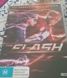 The Flash : Season 5 (DVD, 2019, 5-Disc Set)