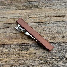 Tie Clip Customizable Leather