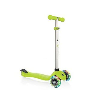 Globber Evo 4 in 1 Scooter with Lights - Green
