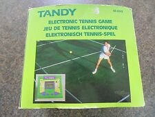 Electronic tennis tandy vintage lcd game new old stock!!! 1990 en boîte rétro