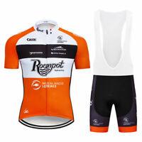 XSU294 Road Mens Racing MTB Cycling Short Sleeve Jersey and bib Shorts
