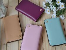Crown PU Leather Smart Zip Wallet Credit Card Case Cover for iPhone 4 4s iPhone4