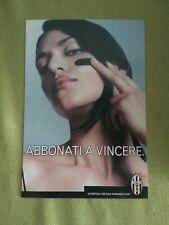 juventus abbonamenti promocard concept card n. 35 grande formato 2002-2003