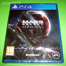 MASS EFFECT ANDROMEDA NUEVO PRECINTADO PAL ESPAÑA PLAYSTATION 4 PS4