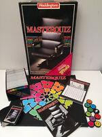 Vintage Board Game MASTERQUIZ By Waddingtons                                  K5