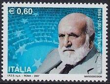 Italia 2007 Centenario della nascita di Altiero Spinelli  MNH