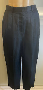 The Row Linen Silk Trousers Size US 6 (Aus 10) New With Tags