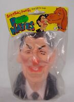 1984 SPITTING IMAGE Figure bust doll VINYL toy Ronald REAGAN Dog Hates no trump