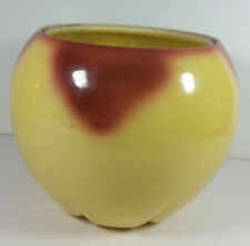 McCoy Pottery Apple Cookie Jar 6in Base Only Vintage Canister Planter Peach