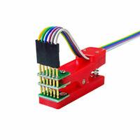 Single row Test programming fixture pogo pin pitch 2.54mm 8P/9P/10P/11P/ 3P~12P