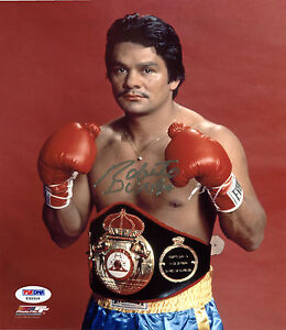 """ROBERTO DURAN """"HANDS OF STONE"""" REPRODUCTION SIGNED BOXING POSTER"""