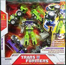 Transformers Hasbro G1 RID Decepticon Constructicon Devastator 5 Combiners MISB