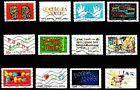 France 2012 Happy New Year Complete Set of Stamps P Used S/A