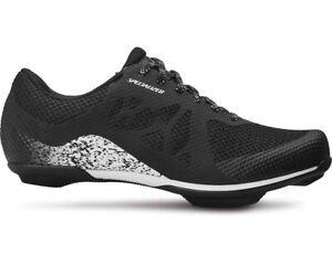 Specialized Remix Road Shoes EU 38 US Men's 5.75 Women 7.25 Black/White CLOSEOUT