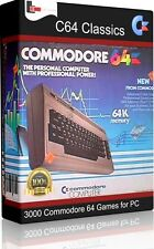 3000 Commodore C64 Classic Games for Pc with Emulator