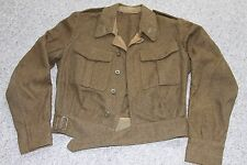 VINTAGE ARMY BATTLE DRESS JACKET TUNIC SIZE M / L