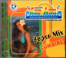 Conjunto Mar Azul  Super Mix Cumbias CD New Nuevo Sealed