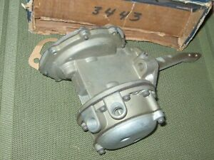 Rebuilt 1961 Oldsmobile 88,98 Fuel Pump, all w/o deluxe heater