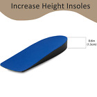 Height Increase Shoes Insole Inserts Invisible Lift Heel Pads Taller Men Women
