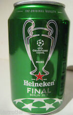 ★ HEINEKEN ★ CANETTE 33 cl ✪UEFA CHAMPIONS LEAGUE FINALE BERLIN✪ LIMITED EDITION
