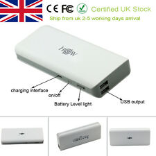 Portable External 10000mAh Dual USB Battery Charger Power Bank For Phone
