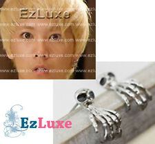 Korean YOU'RE BEAUTIFUL FT ISLAND Ghost Skull Finger Earrings hand skeleton KPOP
