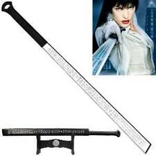 Sharp Full Tang Ultraviolet Movie Sword - Violet's Sword + FREEWooden Stand D127